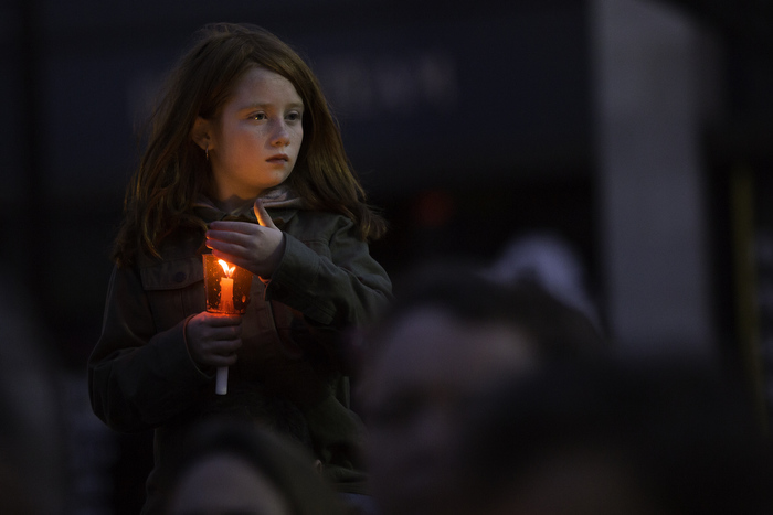 Vigil for Marathon Bombing Victims