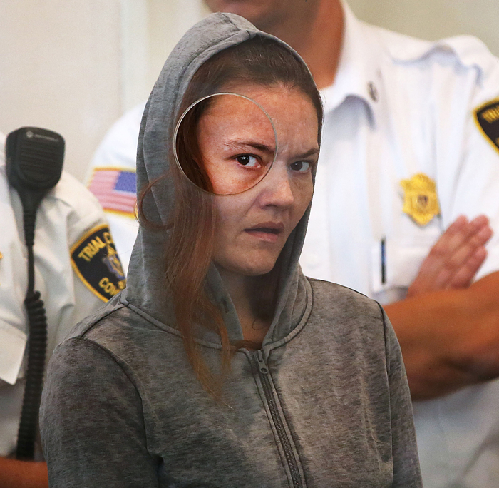 "For months Bella Bond was known only as ""Baby Doe.""  The 2-year-old's body had been stuffed into a trash bag and washed up on a Deer Island beach June 25, 2015.  Investigators had conducted an international search, and then there was a break in the case.  Her mother, Rachelle Bond, arraigned in Dorchester District Court, on September 21, 2015, is charged with covering up the killing and improper disposal of a body.  Her boyfriend, Michael McCarthy (not shown), is charged with killing the girl because ""She was a demon and it was her time to die.""  Prosecutors allege the pair dumped her off the South Boston Waterfront and then got high on heroin."