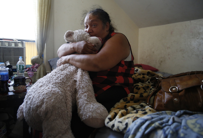 Raquel clutched EstrellaÕs giant teddy bear and cried for hours when she returned home after learning that the Department of Children and Families had taken her daughters away while they were at camp. Sitting on the bed she often shares with her daughters, she wailed: ÒI want my babies.Ó